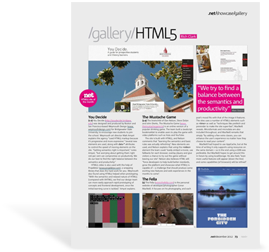 .NET Magazine - December, 2012 Issue - HTML5 Gallery Feature